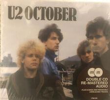 U2 October 2CD Deluxe Edition 2008 Unopened