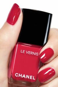 CHANEL LE VERNIS LONGWEAR 885 ANTHURIUM NAIL COLOUR POLISH NEW SPRING 2021