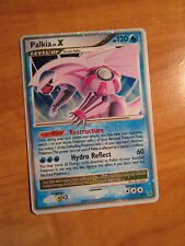 PL Pokemon PALKIA LV.X Card Black Star PROMO Set DP18 Ultra Rare Tin Holo TCG