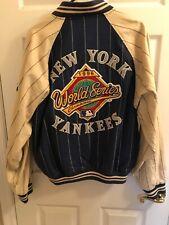 1996 New York Yankee World Series reversible cloth bomber jacket. size LARGE