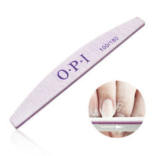 10 pcs Half-moon Nails Rub Nail File Strip White Manicure tools SUPER  SALE WE