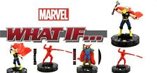 Heroclix Marvel What If? #018 & 005 THOR, 017 & 004 DAREDEVIL, 009 DR. STARK