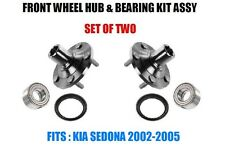Front Wheel Hubs, Bearings & Seals Kit Assy For Kia Sedona 2002-2005 SET OF TWO