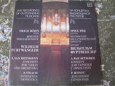 FURTWANGLER  ERICH Rohn 2LP Beethoven Strauss NM