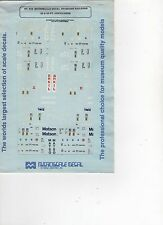 87-443 Microscale Decal HO Gauge Railroad 20 & 40 FT Containers