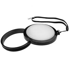 Mennon 43mm White balance lens cap WB w/ leash & filter mount,free US shipment!