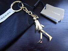 100% Authentic Burberry Punk Rocker Gold Character  Bag Charm, Keyring