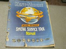 Original 1949-1956 Kent Moore tool catalog, 112 pages, all cars