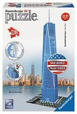 Puzzle 3d Freedom Tower World Trade centr Ravensburger 12562