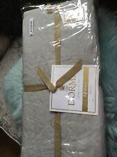 Dorma 100% Linen Grey Double Duvet Cover BNWT