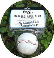 Baseballball rote Nähte American Baseball -Basic- 5 OZ Ball Spielball