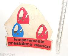 PRESBITERO 50s Milano italy stand with sharpeners - espositore con temperini