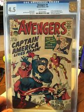 Avengers #4 CGC 4.5 (First Silver Age appearance of Captain America)