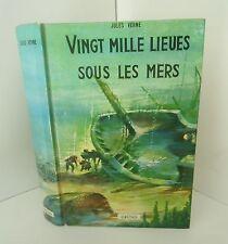 Vingt mille lieues sous les mers.Jules VERNE.Grund 1978  SF28
