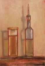 Extra Virgin Olive Oil Daily Impressionist Original Oil Painting by Terry  Wylde