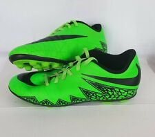 Nike Hypervenom Highlighter Green Soccer Cleats 744942-307 Size 4.5Y Youth