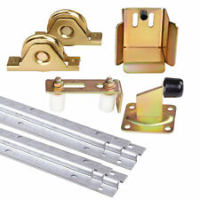 Avant Sliding Gate Hardware Kit Track Wheels Roller Guide Accessories Stopper Opener