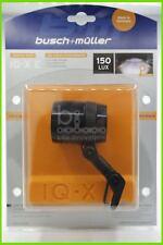 Busch + Müller LUMOTEC IQ-X E E-BIKE SCHWARZ LED Scheinwerfer 150 Lux 164R60TS7