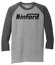 Mens Binford Tools Funny Home Improvement Movie Shirt 3/4 Triblend Tool Tome Tv