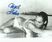 URSULA ANDRESS SIGNED 007 JAMES BOND DR NO  8x10 PHOTO 51 - UACC AFTAL AUTOGRAPH