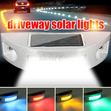 Solar Power 6 LED Pathway Driveway Light Deck Lights Dock Path Step Road Outdoor