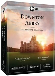 Downton Abbey Complete Series Collection Box Set Region 1 New