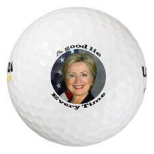 1 Dozen (Hillary Good Lie Golf Balls Logo) Ultra Golf Balls