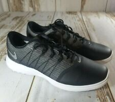 Nike Lunar Empress 2 Black/White Low Top Golf Shoes 819040-001 Women's Size 9