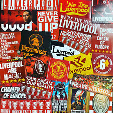 100 x Liverpool Ultra Style Stickers inspired by Kop 6 Madrid 19 Istanbul Poster