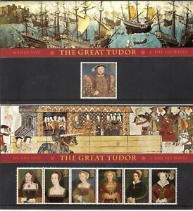 GB 1997 Henry VIII The Great Tudor & The Six Wives Presentation Pack 274