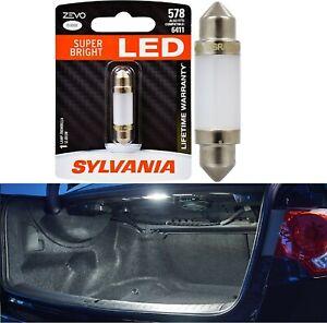 Sylvania ZEVO LED Light 578 White 6000K One Bulb Trunk Cargo Replacement Stock