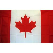 Canadian Country flag Banner Sign 3' x 5 Foot Polyester With grommets Canada