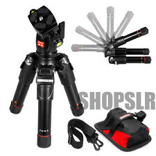 [NEW]Horusbennu Mini Tripod TM-5S w/ Ball head Carrying case Table-top DSLR