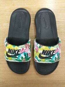 Nike Tropical Print Slides Sandals - Worn Once Inside - UK 5.5 US 8 EUR 39