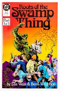 Roots of the Swamp Thing #3 (1986 DC) Len Wein & Berni Wrightson Art! NM