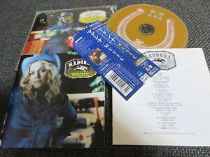 MADONNA / music / JAPAN LTD CD OBI