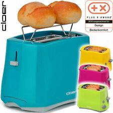 Cloer Germany 2 Scheiben Toaster Brötchenaufsatz Sensorelektronik Toast Automat