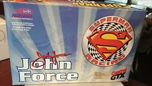 ACTION John force 1:32 Castrol/Superman 1999 Mustang F/C Mint Boxed
