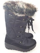 "Spring Step ""Northridge"" Women's Waterproof Winter Boots, Black Size 5.5 - 6"