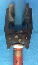 "Vintage GE General Electric Fuse Tongs Fuse Puller HUGE 50-1/2"" Long Fuse Size D"