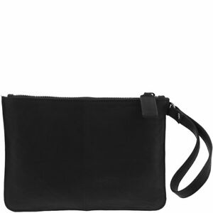 GABEE Queens Leather Pouch  Clutch Bags