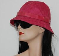 Gucci GG Monogram Logo Cyclamen Canvas Bucket Hat Large