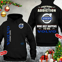 Volvo/Trucks/Everybody Has An Addiction/Mine Just Men's Hoodie Hot Gift