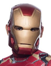 Iron Man Mark 43 Molded 1/2 Mask, Kids Avengers Age Of Ultron Costume Accessory