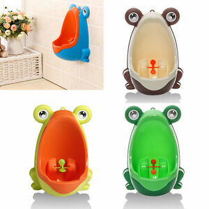 HOT Frog Kids Potty Toilet Training Baby Urinal for Boy Pee Trainer Bathroom