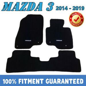PREMIUM Prestige Carpet Floor Mats for Mazda 3 2014 2015 2016-2019 all models