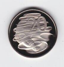 1970 Australia Proof 20 Cent Coin  A-338