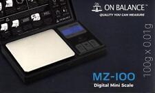Nueva escala myco MZ-100-BK 100g X 0.01g (en equilibrio)