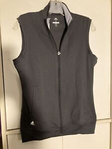 Adidas Womens Golf Club Vest Size Small Full Zip NWT