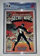 Marvel Secret Wars #8 CGC 9.4 (Marvel, 1984) Black Costume Newsstand Variant HTF